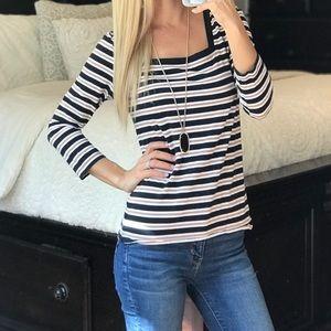 Karen Scott Striped Shirt